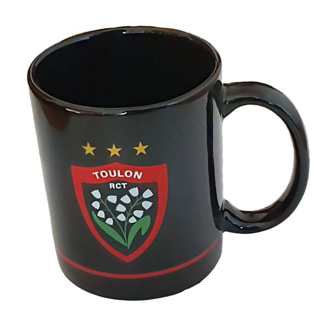 Mug noir joueurs rct