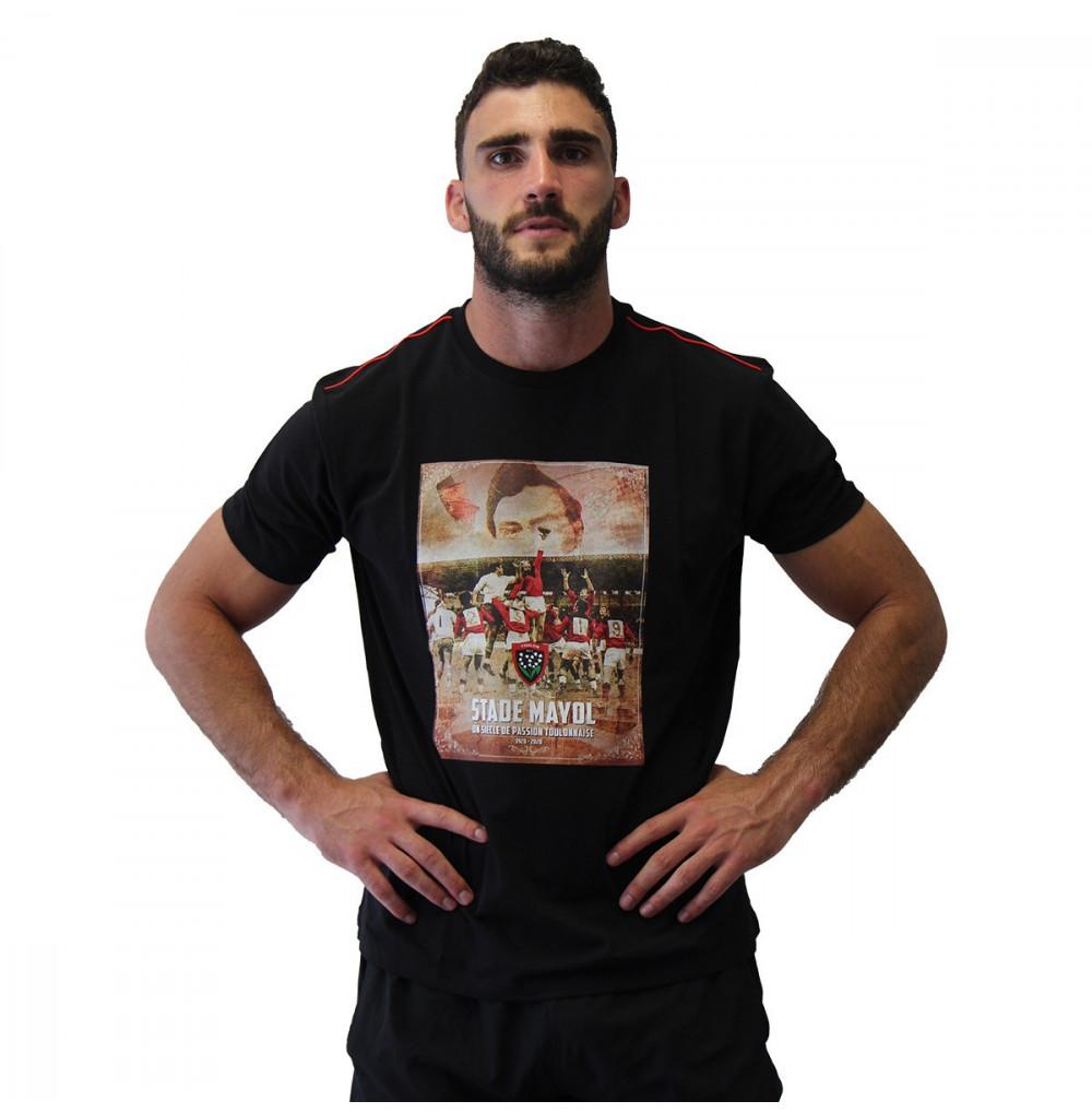 T-shirt noir collector 100 ans