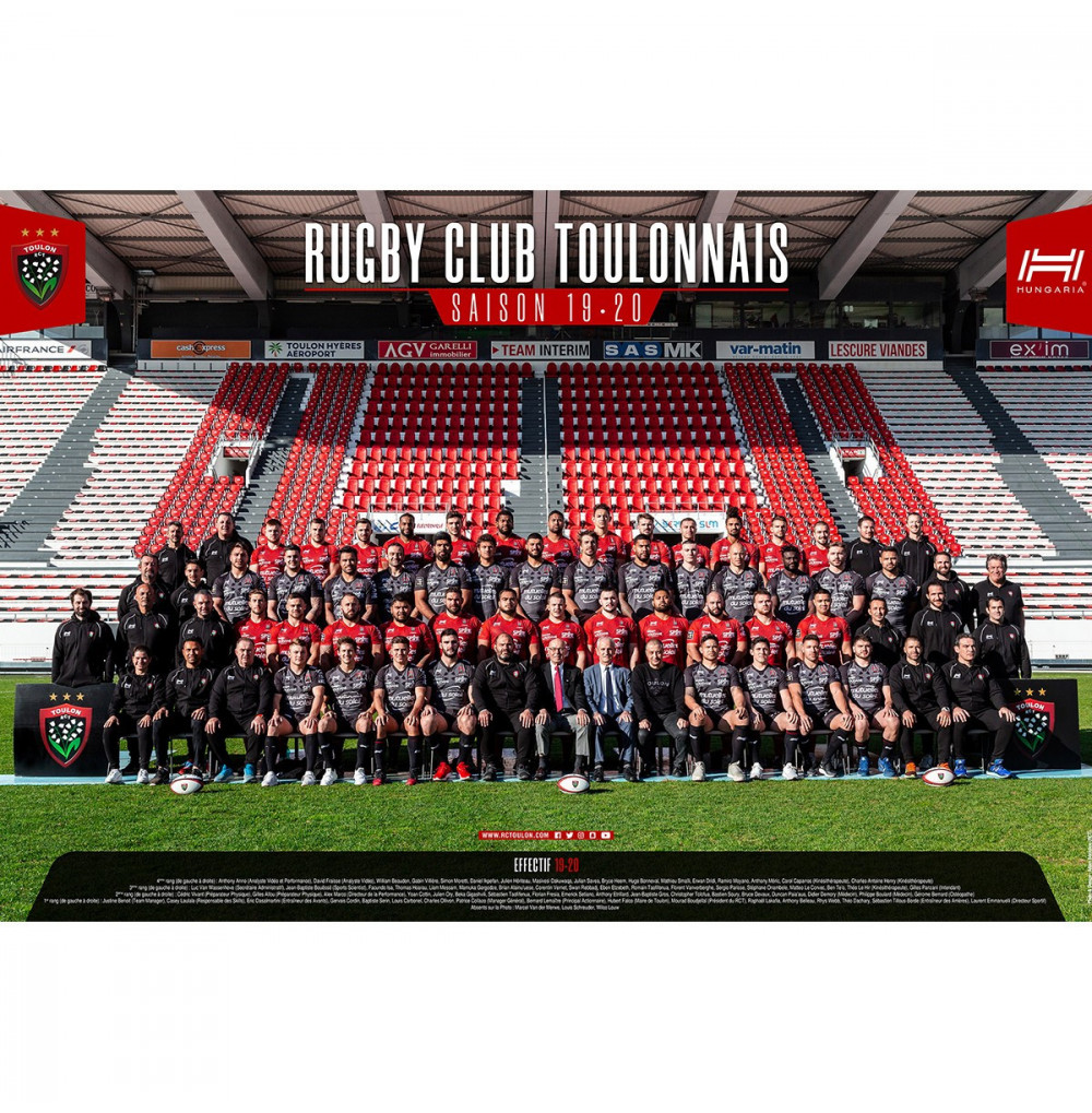Poster équipe 2019/2020