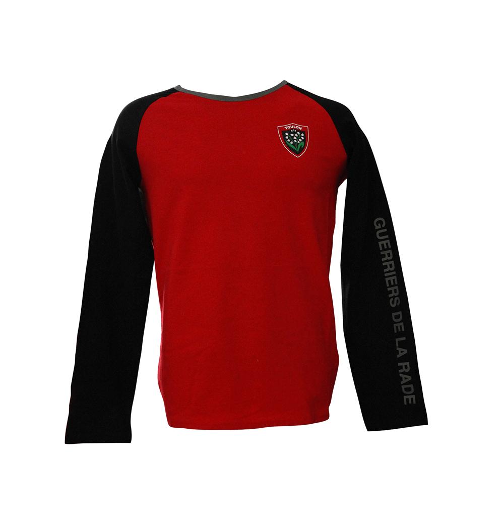 T-shirt enfant rouge & noir...