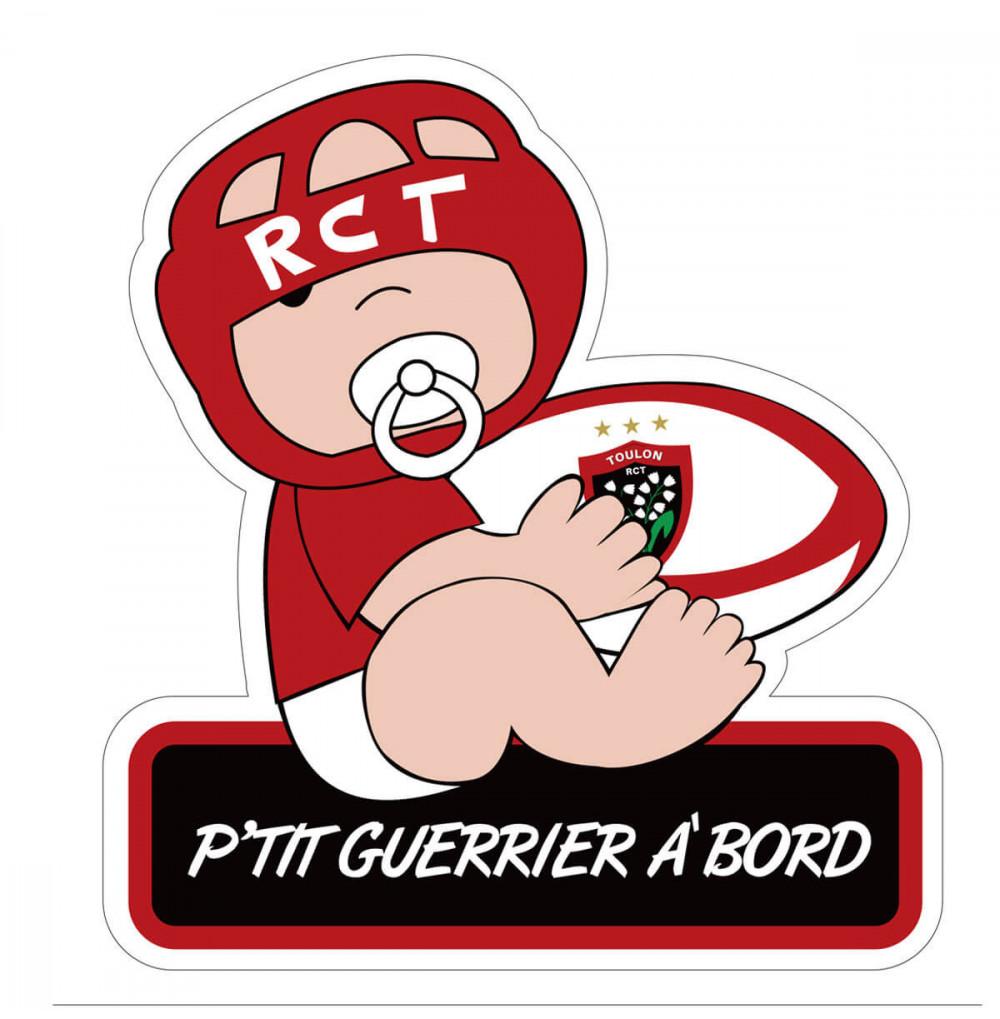 Sticker p'tit Guerrier de...