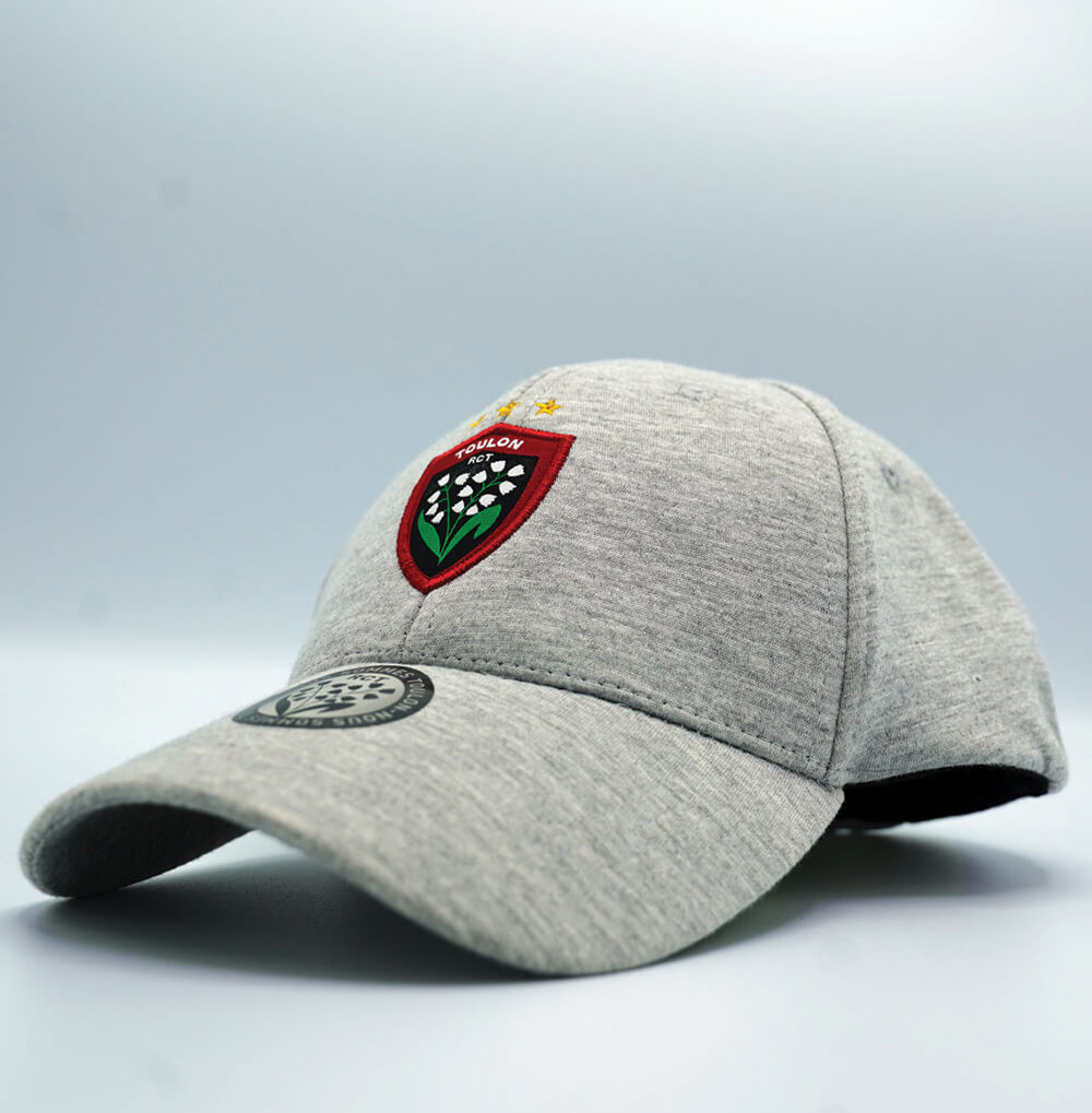 Casquette grise baseball RCT