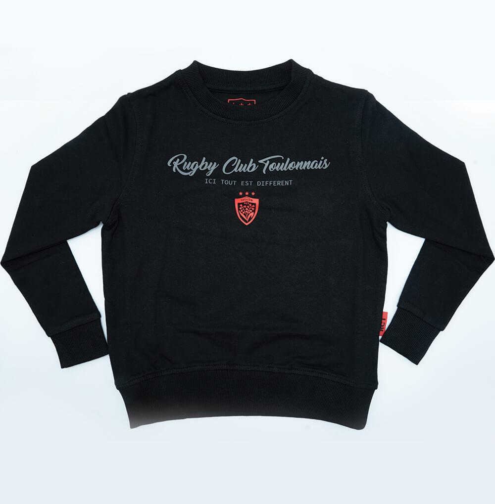 Black round neck sweatshirt...