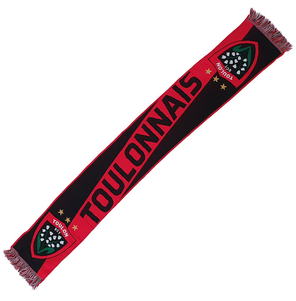 Echarpe supporter Toulonnais