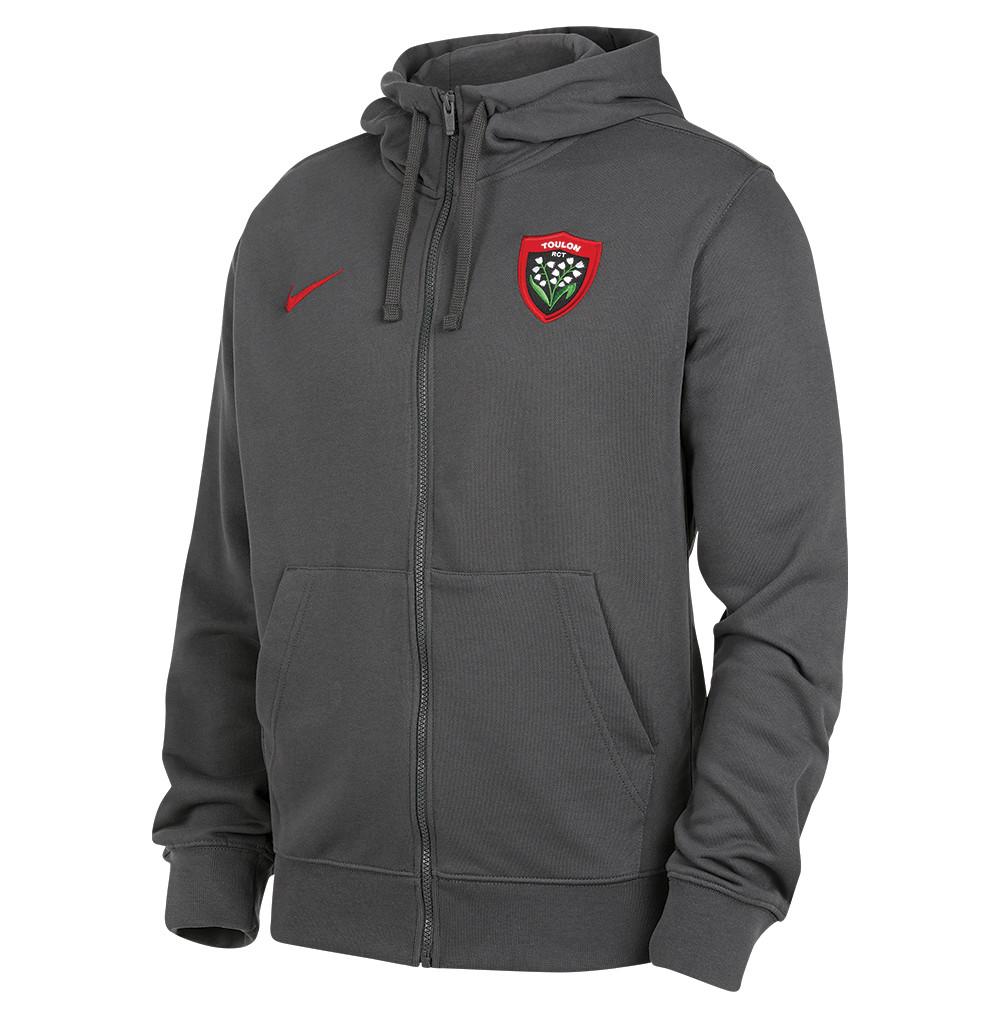 Club full zipp hoodie ft