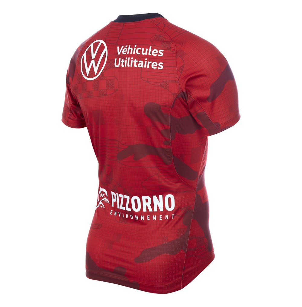 MAILLOT REPLICA ROUGE JR 19-20