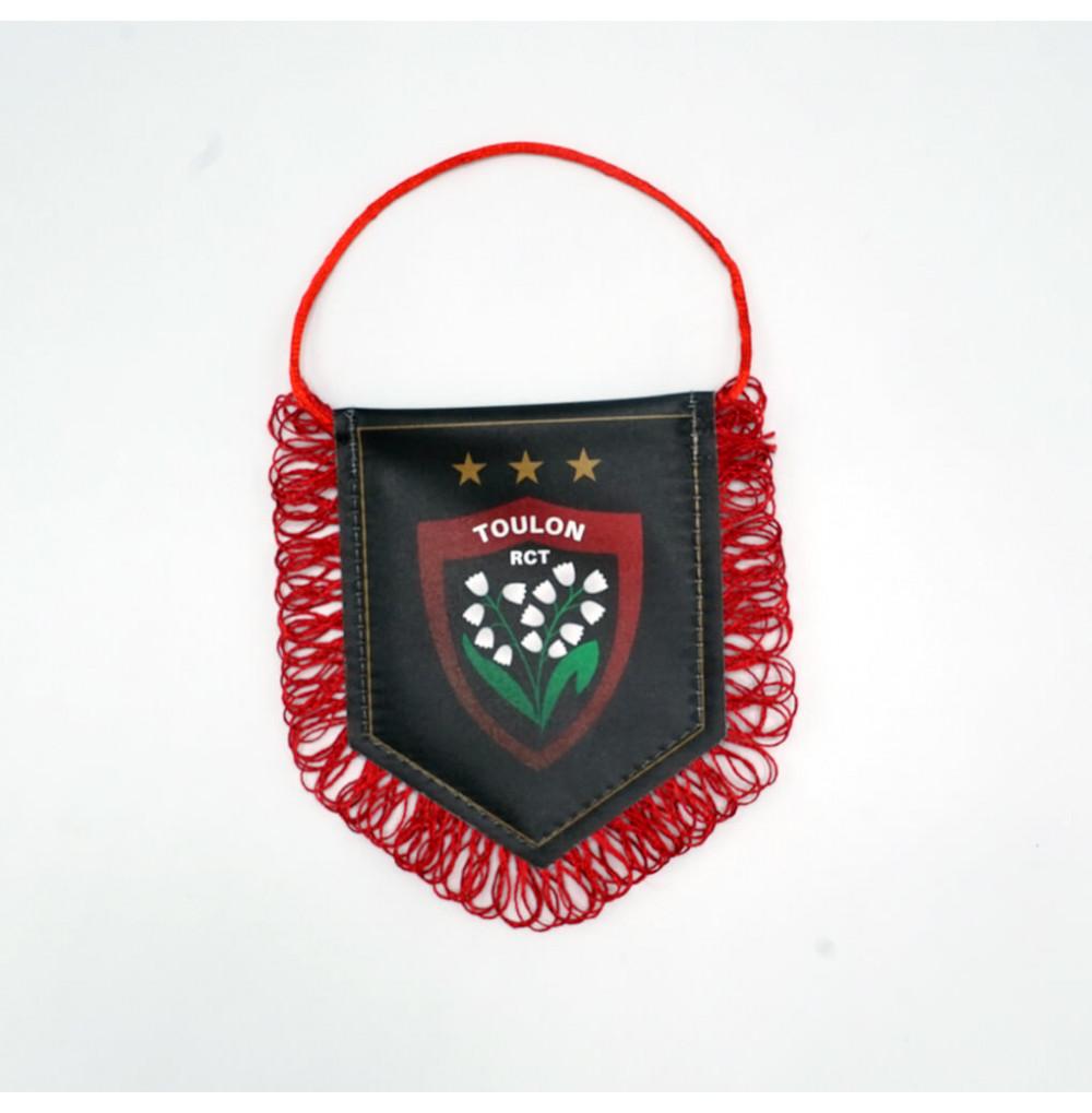 Mini fanion noir logo