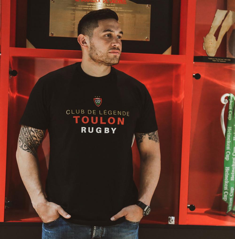 T-shirt adulte club de légende